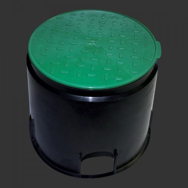 Boden-Kabelschacht rund