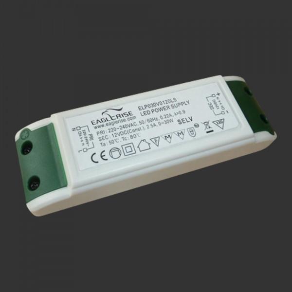 LED-Netzteil 12 V DC, 30 W,