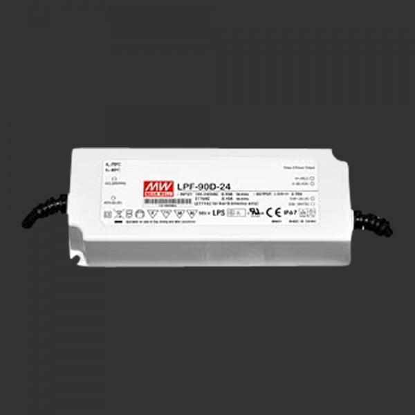 LED-Netzteil 24 V DC, 90 W,