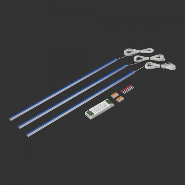 slimlux 3,5 Lichtlinien 3er Set