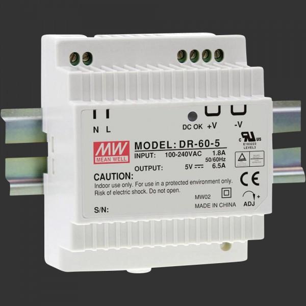 LED-Netzteil 24 V DC, 60 W, für DIN Schiene