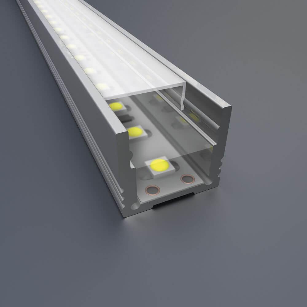 LED Lichtlinie Teilverguss