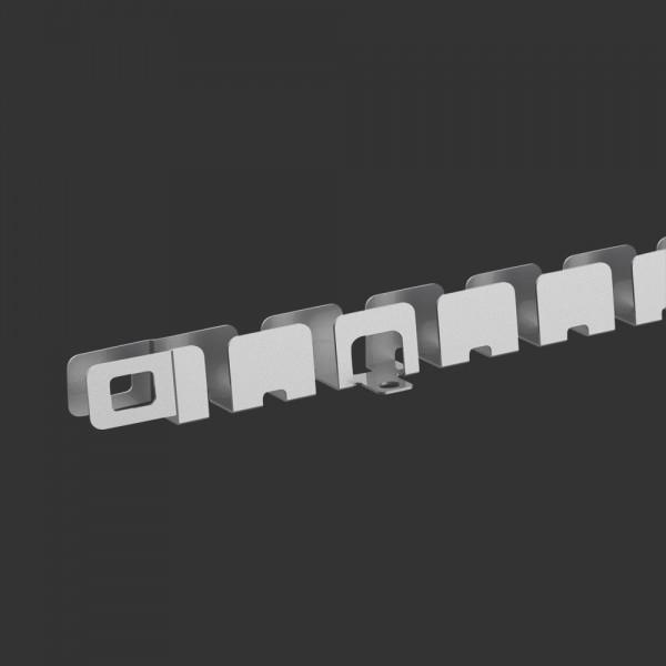 Montageprofil, flexibel, für slimlux 6,5 x 12 miniflex