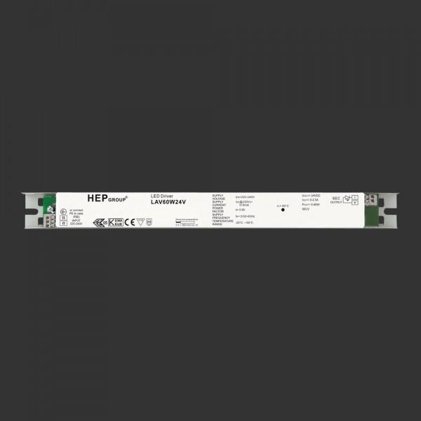LED-Netzteil 24 V DC, 60 W, extra schmal