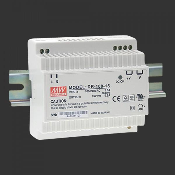 LED-Netzteil 24 V DC, 100 W, für DIN Schiene